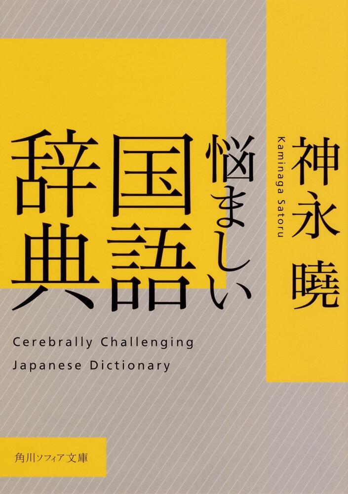 書影:悩ましい国語辞典