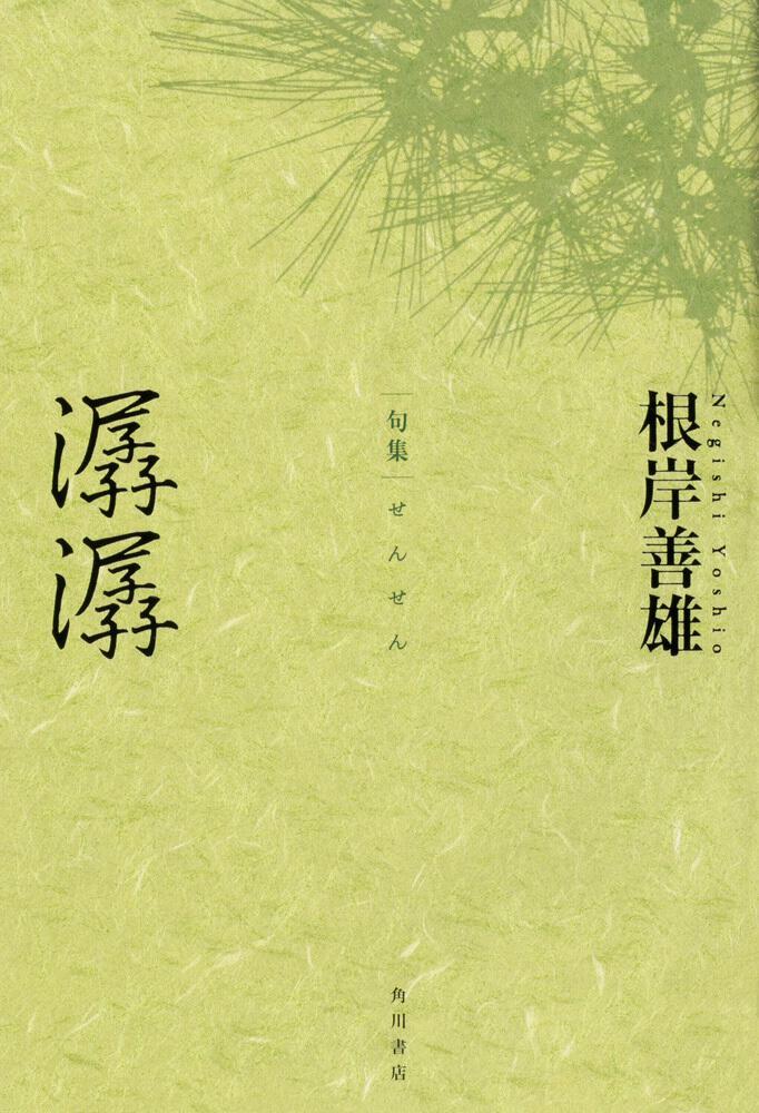 句集 潺潺 角川俳句叢書 日本の俳人100
