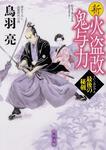 表紙:新火盗改鬼与力 最後の秘剣