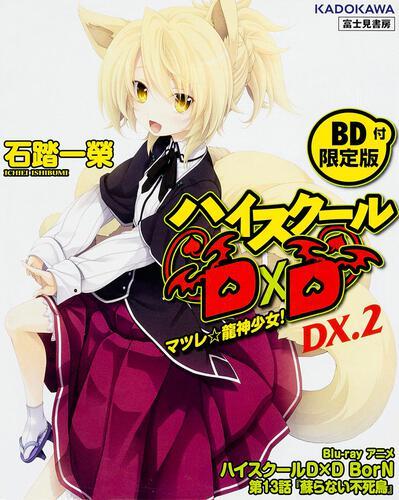 書影:ハイスクールD×D DX.2 【BD付限定版】 マツレ☆龍神少女!