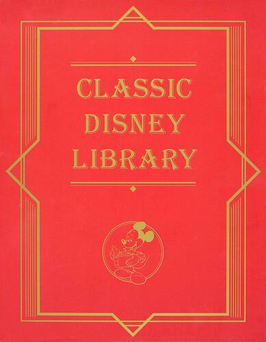 表紙:CLASSIC DISNEY LIBRARY 全5巻セット