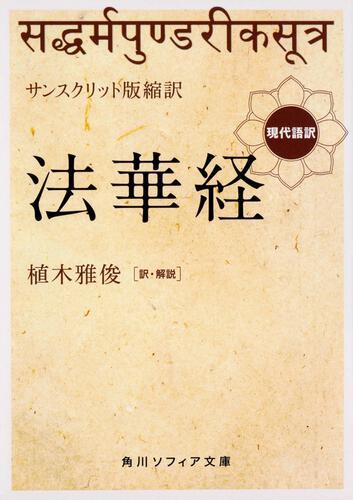 書影:サンスクリット版縮訳 法華経 現代語訳