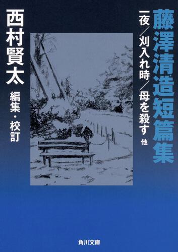 書影:藤澤清造短篇集 一夜/刈入れ時/母を殺す 他