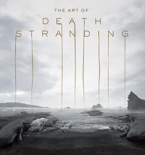 書影:THE ART OF DEATH STRANDING