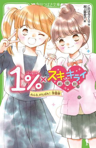 表紙:1%×スキ・キライ相関図 みんな、がんばれ! 学園祭