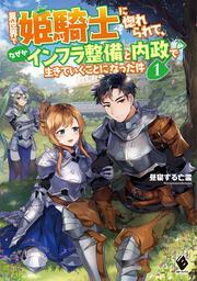 表紙:異世界で姫騎士に惚れられて、なぜかインフラ整備と内政で生きていくことになった件 1